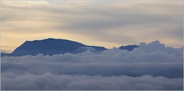 Massif du Taillefer depuis le Vercors - Matin du 12 septembre 2011
