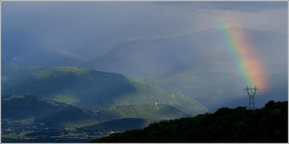 Orages au Sud de Grenoble - 18 mai 2011 - 19h30