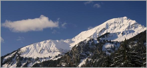 Grand beau à Châtel - 21 janvier 2010