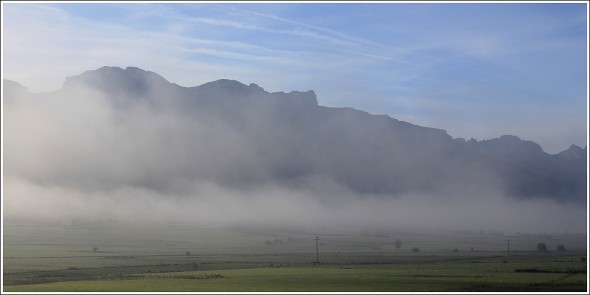 Plateau du Vercors - Matin du samedi 24 septembre 2011