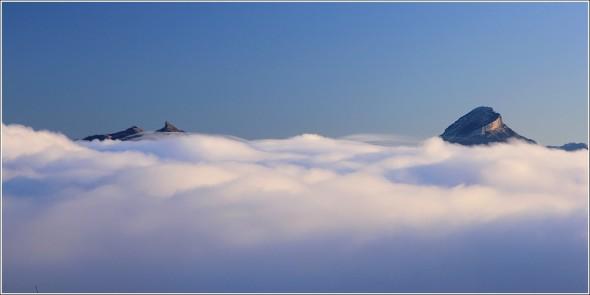 Réunion au sommet - Mer de nuages et Chartreuse - 26 octobre 2011