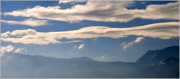 Le ciel au dessus de Chamrousse et Taillefer - 27 juillet 2010
