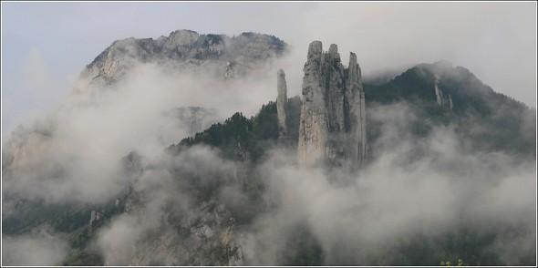 Les 3 Pucelles - Saint Nizier du Moucherotte - 29 avril 2011 - 8h20