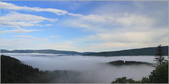 Plateau du Vercors depuis la Sierre - 3 juin 2011 - 8h