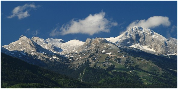 Villard de Lans depuis Lans en Vercors - 16 mai 2011 - 8h55
