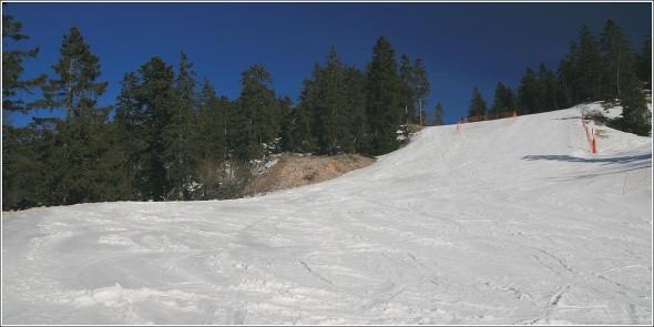 Pistes de ski alpin d'Autrans - 10 février 2011