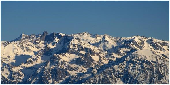 Massif de Belledonne depuis Autrans - 10 février 2011