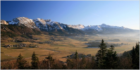Plateau du Vercors - 11 décembre 2010