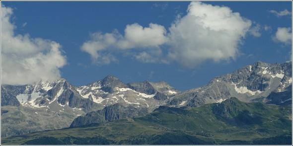 Massif de Belledonne depuis la Chartreuse - 8 août 2010