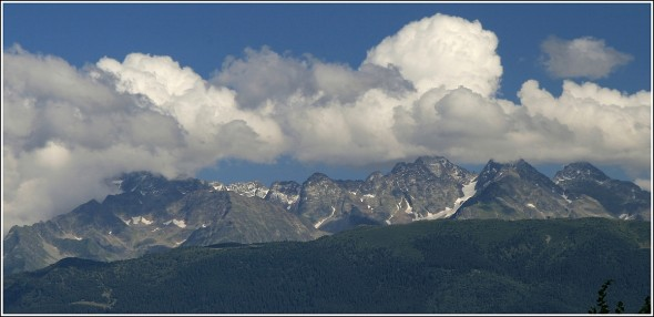 Massif de Belledonne depuis Chartreuse - 8 août 2010