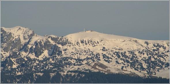 Chamrousse - Massif de Belledonne - 1er avril 2011