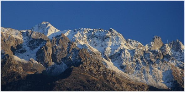 Massif de Belledonne - 26 octobre 2011