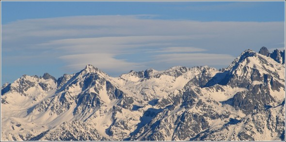 Massif de Belledonne - 27 octobre 2010