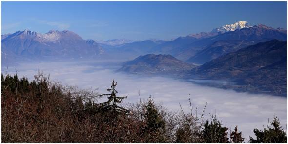 Chartreuse, Vallée du Grésivaudan, Belledonne et Mont Blanc - 27 novembre 2011
