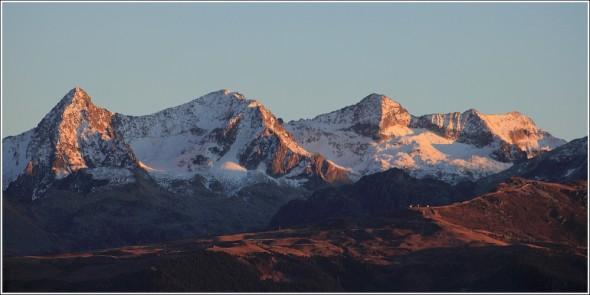 Belledonne depuis Chartreuse - 27 novembre 2011