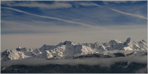 Belledonne depuis Chartreuse - 28 novembre 2010