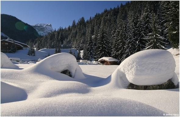 Vers Courchevel - 29 janvier 2010