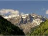 Sur la route de Megève - 6 avril 2009