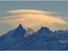 Meije, Rateau et Glacier des 2 alpes depuis Lans en Vercors - 18 décembre 2010