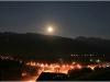 Pleine lune sur Lans en Vercors - 25 juin 2010