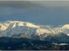 Massif du Taillefer depuis le Vercors - 24 février 2010