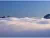 Mer de nuages depuis le tremplin olympique de St Nizier du Moucherotte - 26 octobre 2011