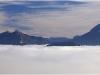 Mer de nuages au-dessus de Grenoble - 11 octobre 2011