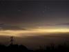Mer de nuages nocturne - 24 novembre 2011