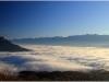 Mer de nuages sur Grenoble - 25 novembre 2011