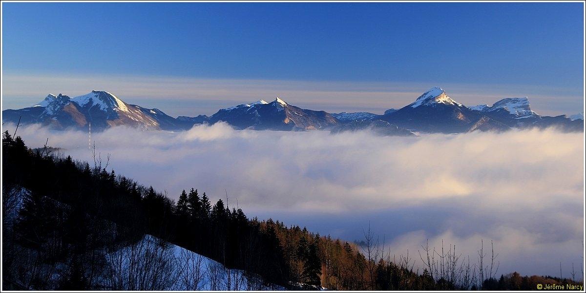 Vercors, mer de nuages et Chartreuse - Vendredi 13 janvier 2012