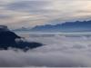 Mer de nuages sur Grenoble - 11 octobre 2012