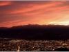 Coucher de soleil - Belledonne et Grenoble depuis Vercors - 19 octobre 2012