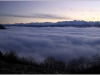 Mer de nuages - Vercors - 21 decembre 2012