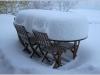 Tempête de neige - Lans en Vercors - 28 octobre 2012
