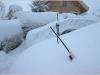 Neige précoce à Lans en Vercors - 28 octobre 2012