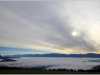 Mer de nuages - Chartreuse et Belledonne depuis Vercors - 1er octobre 2013