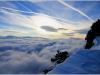 Depuis Lans en Vercors en direction des Hautes Alpes - 5 janvier 2013