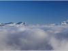 Depuis Lans en Vercors en direction de Chartreuse - 5 janvier 2013