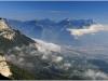 Vercors - Panorama depuis le Pic St Michel - 23 septembre 2013