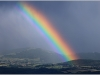 Arc en ciel sur Belledonne - 11 juin 2012