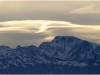 Lenticulaires au dessus de Belledonne et Taillefer - 25 mars 2009