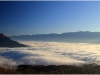 Mer de nuages - Belledonne et Grenoble - 25 novembre 2011