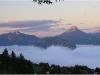 Mer de nuages et Chartreuse - 10 octobre 2011