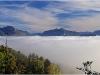 Chartreuse et mer de nuages - 11 octobre 2011
