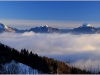 Vercors, mer de nuages et Chartreuse - 13 janvier 2012