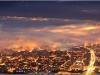 Brume et brouillard sur Grenoble depuis le Vercors - 7 novembre 2013