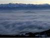 Mer de nuages depuis le Vercors en direction de Belledonne - 29 janvier 2010