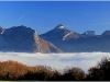 Mer de nuages depuis La Tour Sans Venin - 24 novembre 2011