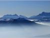 Hautes Alpes (Obiou) depuis le Vercors - 18 février 2012