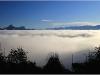Panorama vers Chartreuse et Belledonne depuis le Vercors - 12 octobre 2011